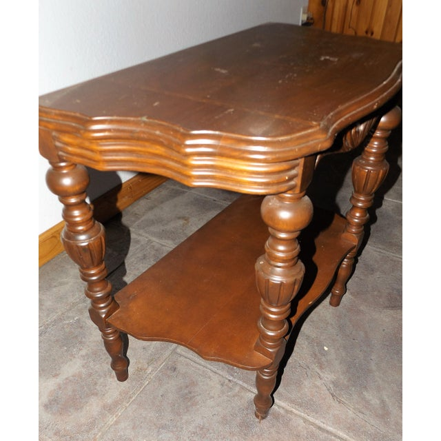 Victorian Tiered End Table - Image 5 of 6