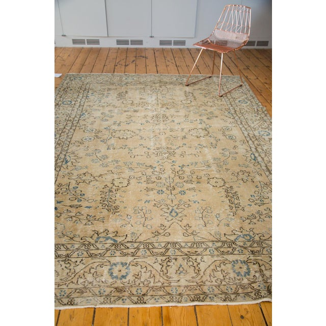 "Vintage Oushak Carpet - 7'1"" x 10' - Image 7 of 7"