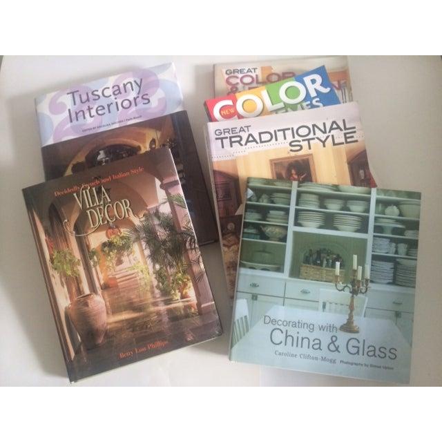 Italian Decorating Coffee Table Books - Set of 6 - Image 2 of 11