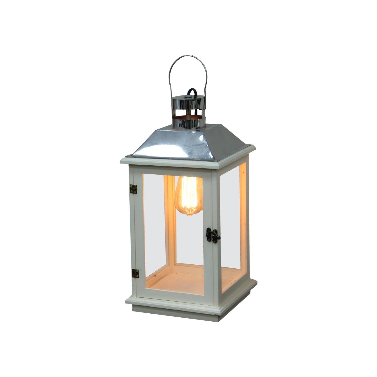 Handmade electric lantern lamp with edison bulb chairish arubaitofo Images