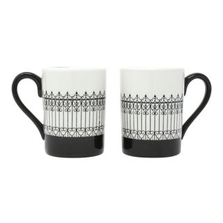 1967 Porcelain American Airlines Cappuccino Cups - a Pair For Sale
