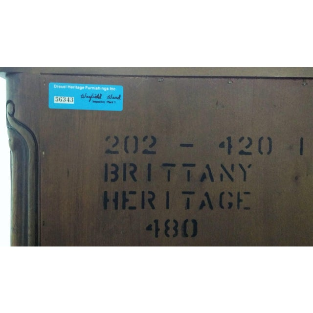 Mid 20th Century Drexel Heritage Armoire For Sale - Image 10 of 11