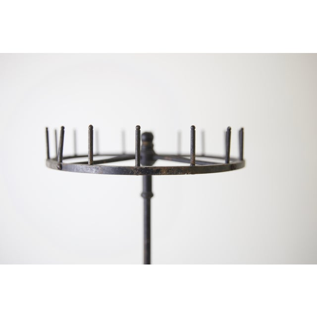 American Vintage Industrial Iron Display Piece For Sale - Image 3 of 8