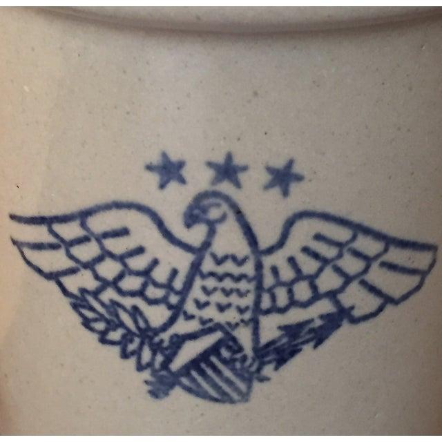 Vintage American Eagle Salt Glaze Crock - Image 8 of 9