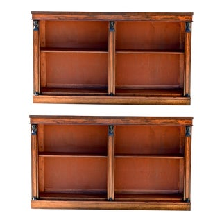 19th C. Egyptian Revival Bookcases - A Pair