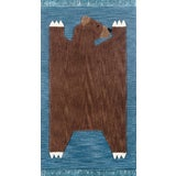 Image of Novogratz by Momeni Atticus Teddy in Navy Rug - 5'X7' For Sale