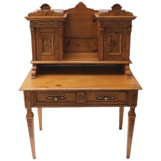 Northern European Pine Desk For Sale