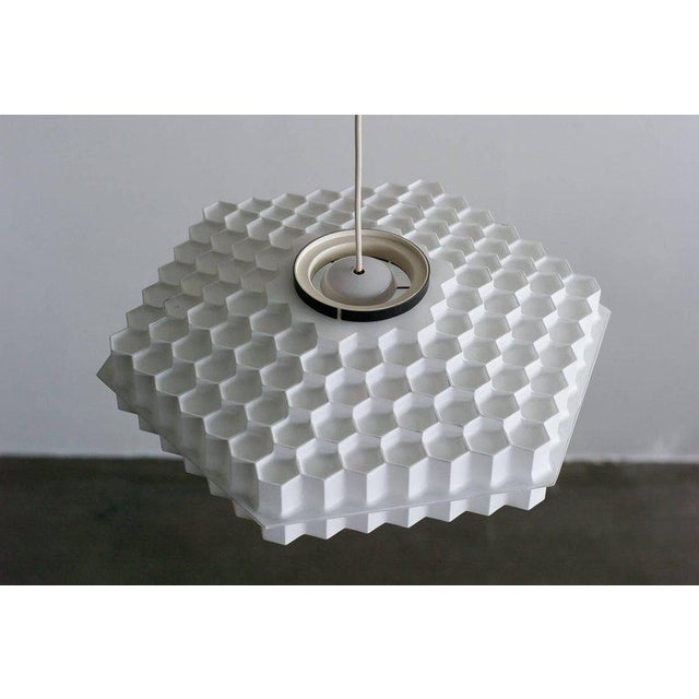 Architectural Honeycomb Pendant For Sale - Image 4 of 6