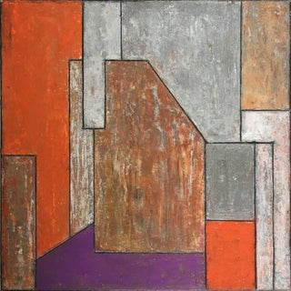 The Passage Architectural Abstract Painting by Stephen Cimini For Sale