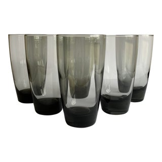 Mid-Century Highball Glasses, Set of 6 For Sale
