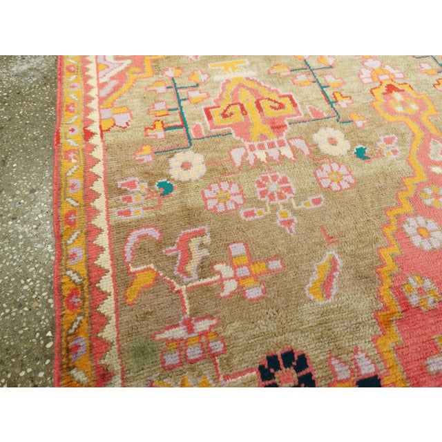 """Vintage Persian Mahal Rug – Size: 3' 11"""" X 6' 8"""" For Sale In New York - Image 6 of 10"""