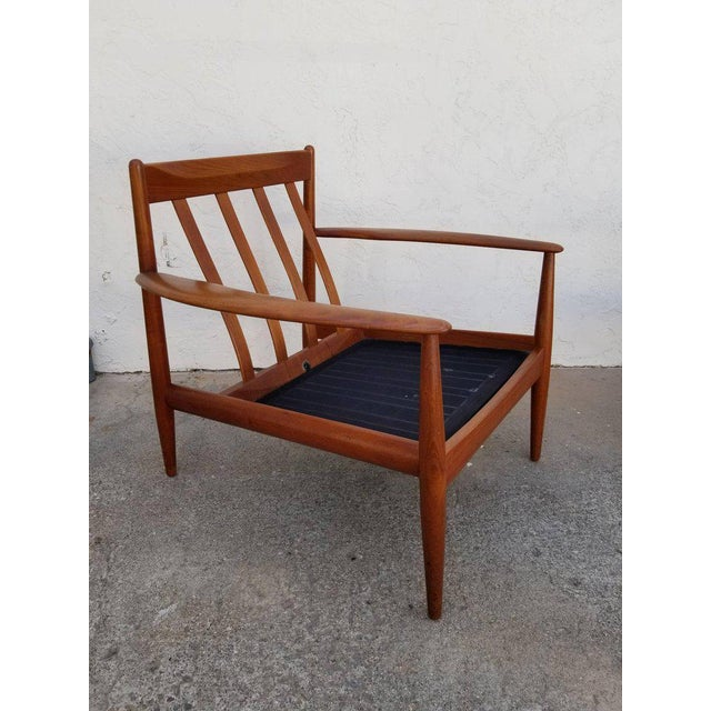 Grete Jalk for France & Daverkosen Teak Lounge Chairs - A Pair For Sale In San Francisco - Image 6 of 13