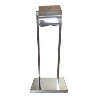 1960s Koch & Lowy Chrome Bauhaus Desk Lamp For Sale