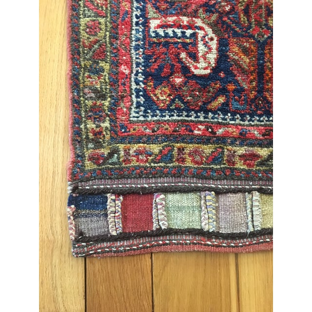 Adirondack Early 20th Century Vintage Kurdish Bag Face Rug - 2′1″ × 4′9″ For Sale - Image 3 of 8