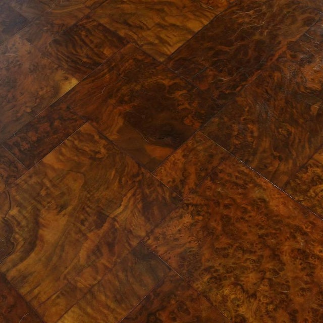 Paul Evans Parsons Table in Burl Patchwork For Sale - Image 9 of 9