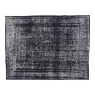 Vintage Turkish Rug With Industrial Luxe Style - 09'05 X 12'04 For Sale