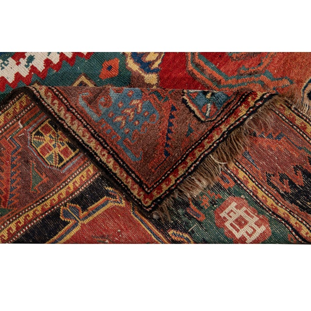 Traditional Mid-20th Century Vintage Wool Rug 4' 5'' X 8' 8''. For Sale - Image 3 of 13