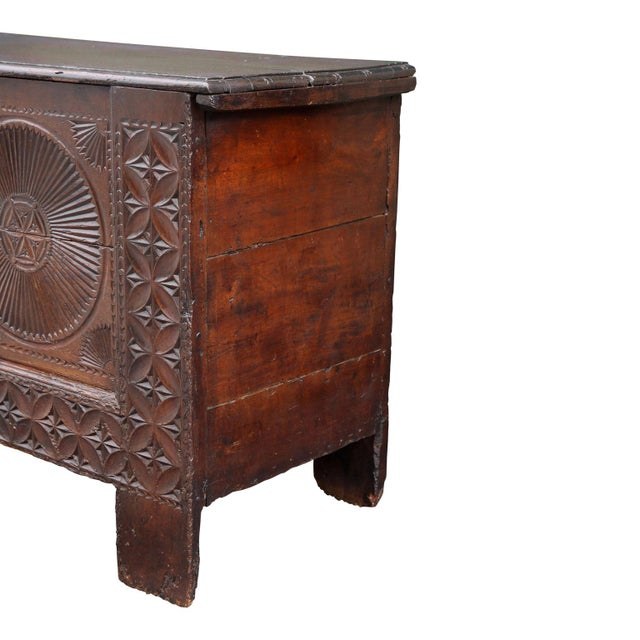 18th Century Carved Spanish Chest For Sale In Houston - Image 6 of 10
