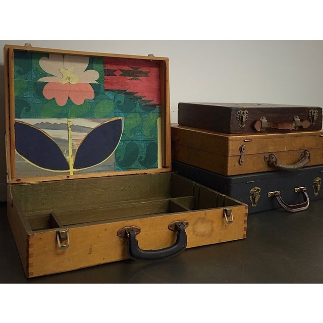 Vintage Artist Box With Collage Interior - Image 7 of 8