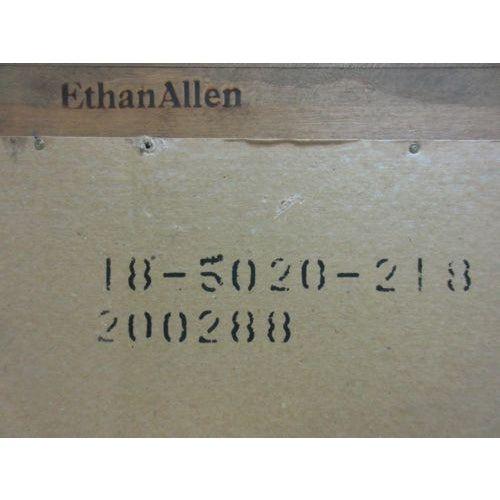 1776 Ethan Allen Hanging Wall Dresser Mirror For Sale In Philadelphia - Image 6 of 6