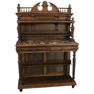 Antique Server Sideboard Henry II Renaissance For Sale