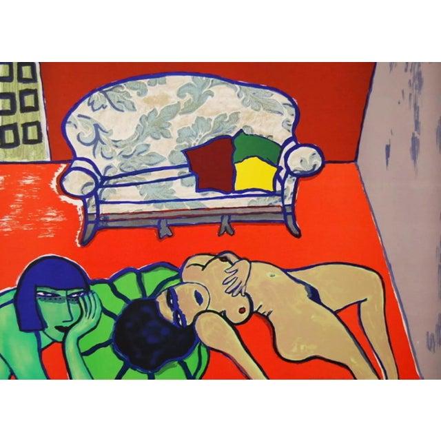 Expressionism Guillaume Cornelis van Beverloo (Corneille) The Conversation 1979 For Sale - Image 3 of 3