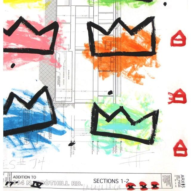 "2010s ""Rainbow Royalty"" Original Artwork by Gary John For Sale - Image 5 of 6"
