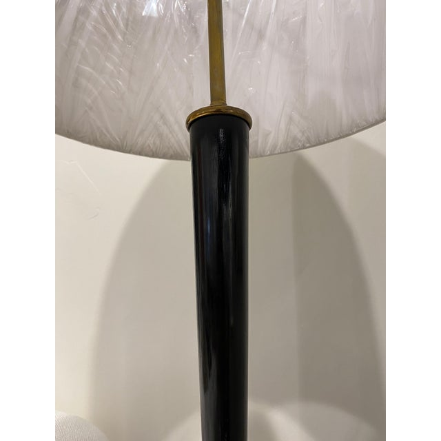 Italian Ebonized Wood Floor Lamps For Sale - Image 9 of 10