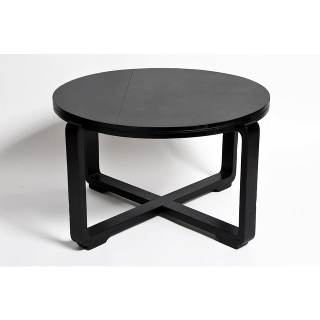 1940s British Colonial Art Deco Tea Table For Sale - Image 5 of 13