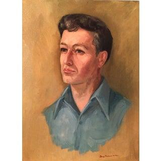 Suave Man Oil Portrait Painting