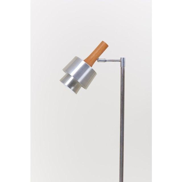 1960s Standard/ Reading Lamp by Jo Hammerborg for Fog & Mørup For Sale - Image 5 of 11
