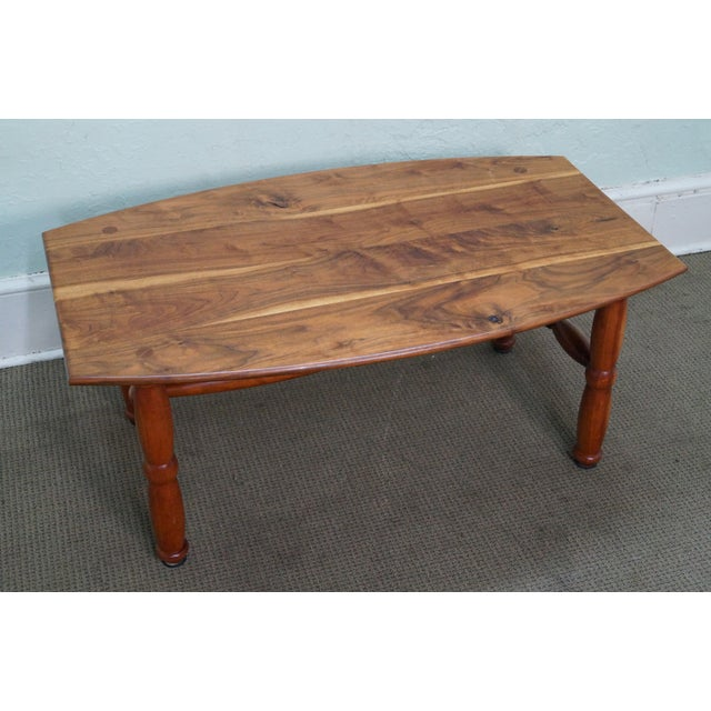 Studio Made Solid Walnut & Mix Wood Coffee Table - Image 3 of 10