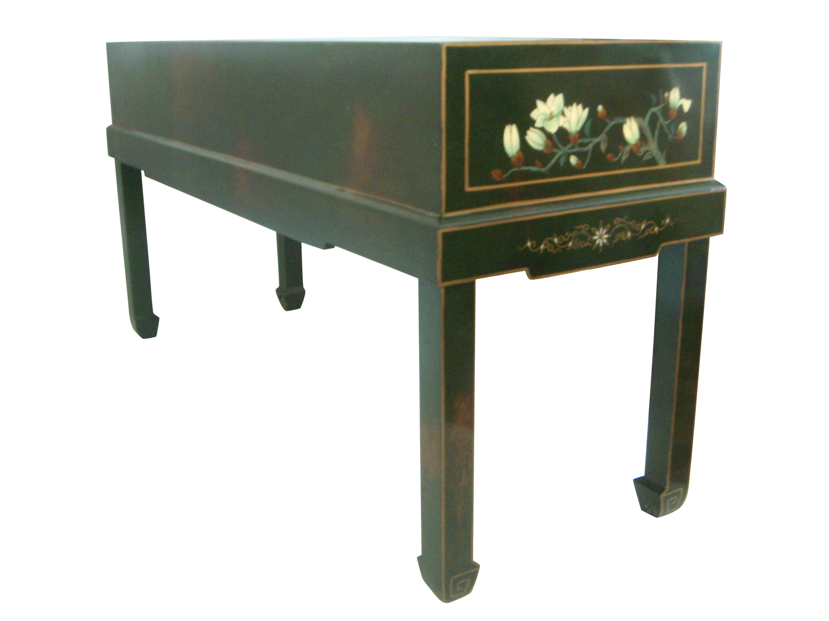 Merveilleux A High End Vintage Oriental Console Table With Lots Of Super Hand Painted  Detailing. Solid