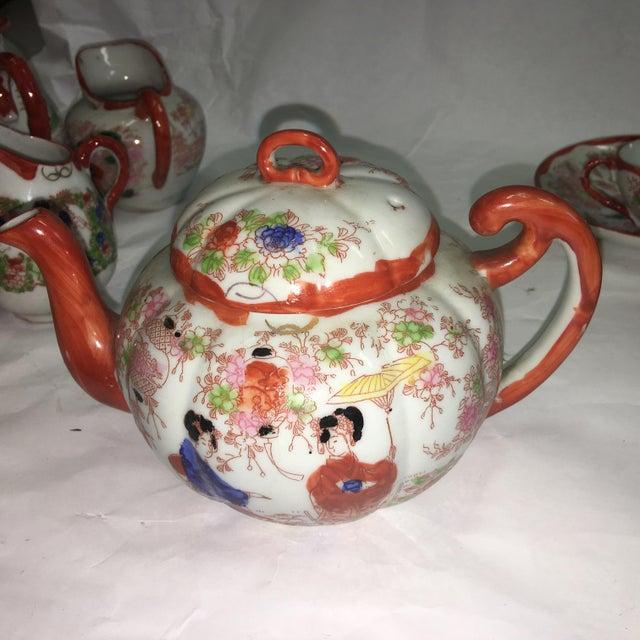 Japanese Porcelain Tea Set - Set of 22 - Image 6 of 10