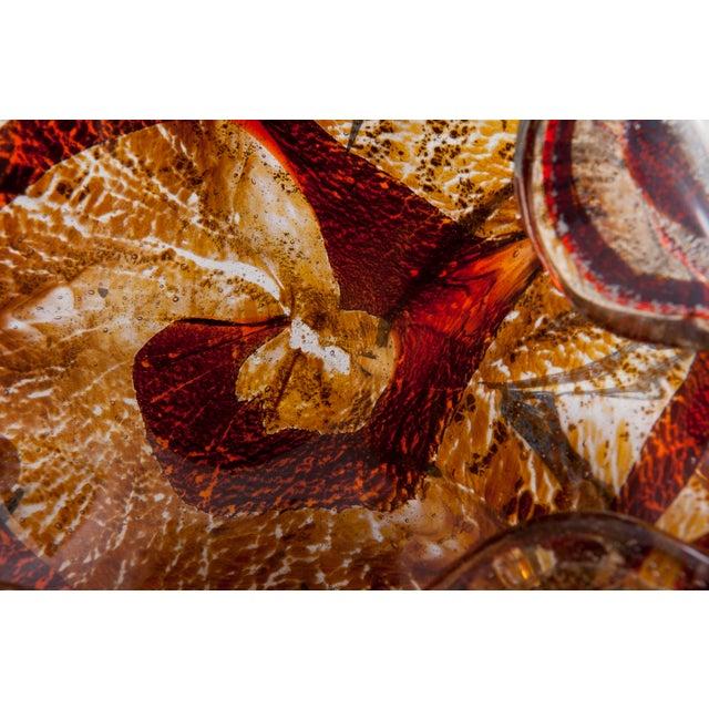 Tortoise Shell Murano Glass Dish - Image 5 of 6