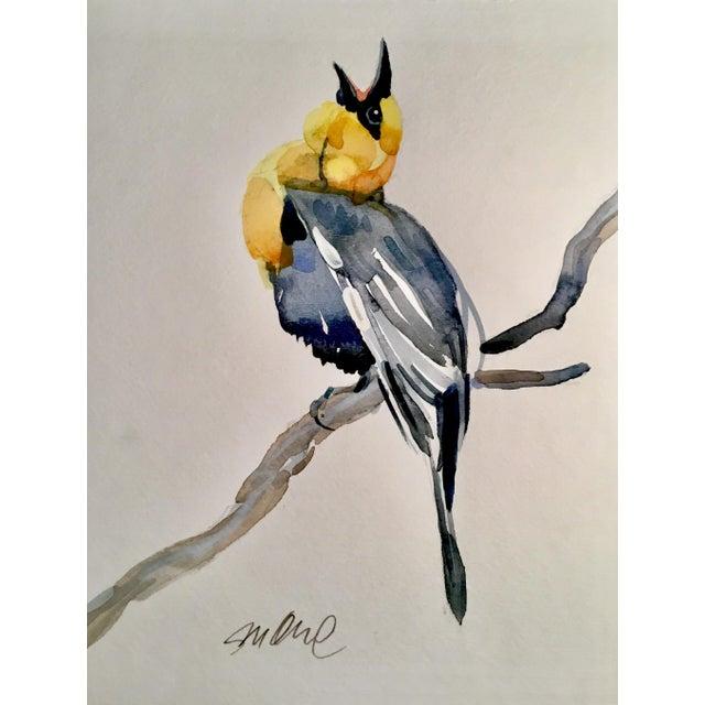 Yellow Headed Blackbird Original Watercolor Painting - Image 3 of 3