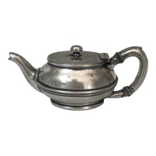 Vintage Reed & Barton Country Club Hotel Silver Teapot For Sale