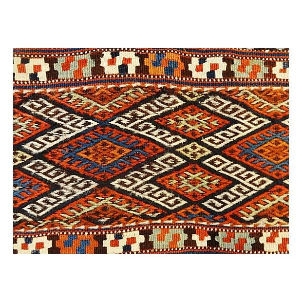19th Century Azeri Kilim Runner - Image 7 of 7