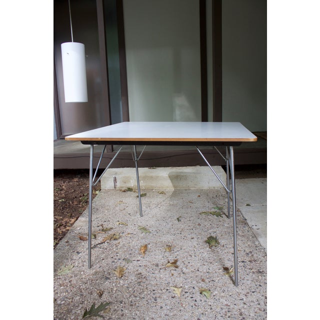 Eames Eames DTM20 Folding Dining Table by Herman Miller For Sale - Image 4 of 8