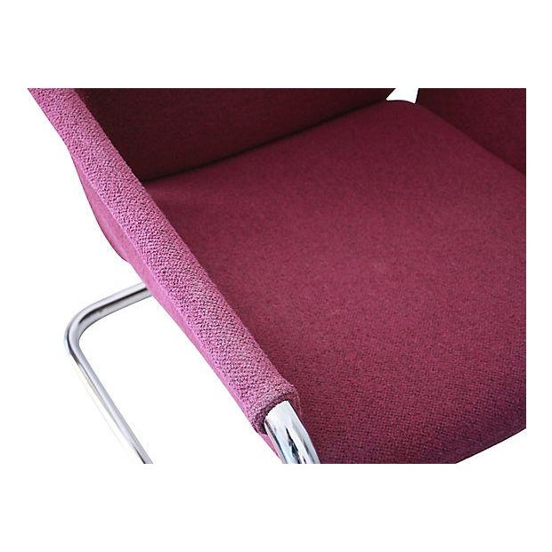 1980s Postmodern Cantilevered Chairs - A Pair - Image 9 of 10