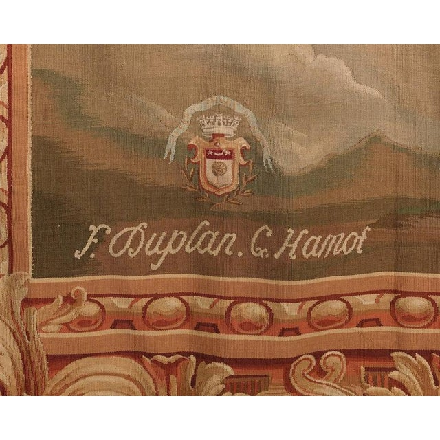 Aubusson French Wall Tapestry For Sale - Image 4 of 5