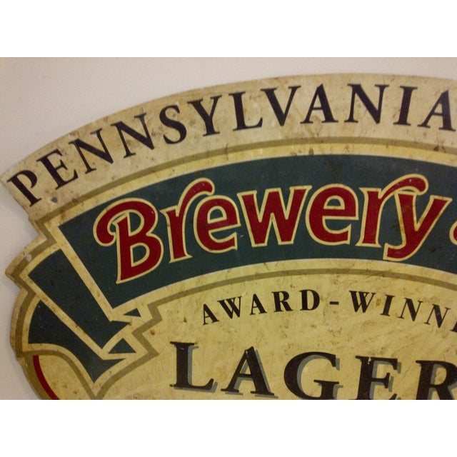 "Vintage ""Brewery Hill"" Metal Advertising Sign - Image 3 of 5"
