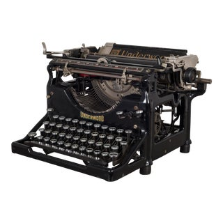 Antique Underwood Typewriter #4 C.1926 For Sale