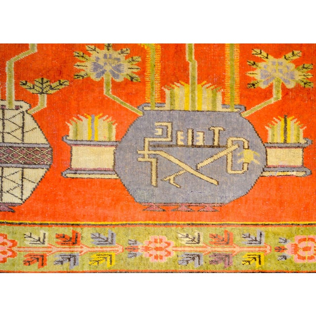Traditional Wonderful Early 20th Century Samarkand Rug For Sale - Image 3 of 8