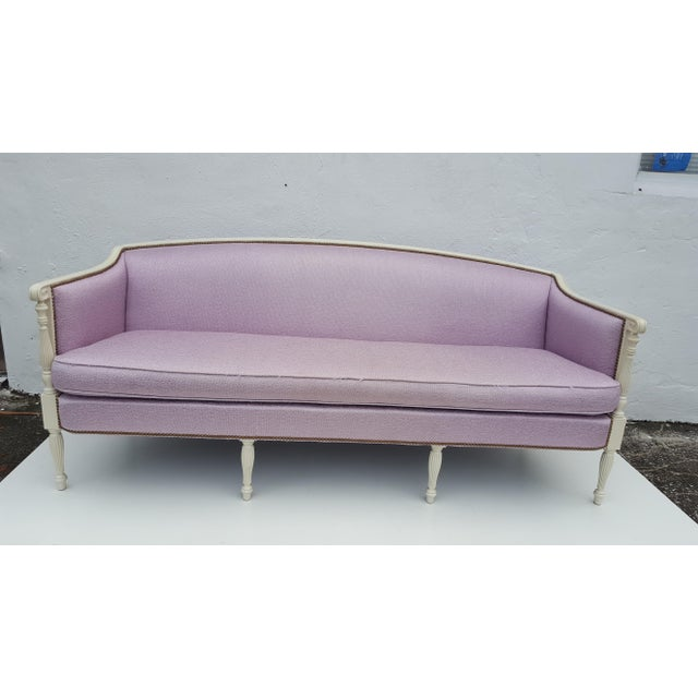 Vintage Hickory Chair Company Regency Style Sofa - Image 3 of 11