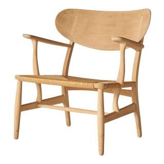 Hans Wegner Lounge Chair Model #Ch-22