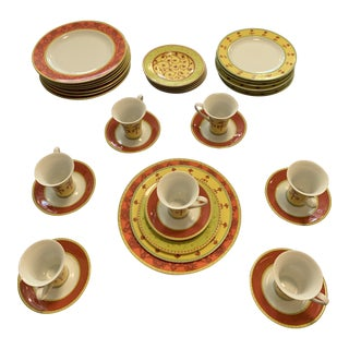 Rosenthal Bohkara China Dinnerware - 37 Piece Set For Sale