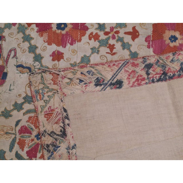 Antique Suzani For Sale In New York - Image 6 of 8
