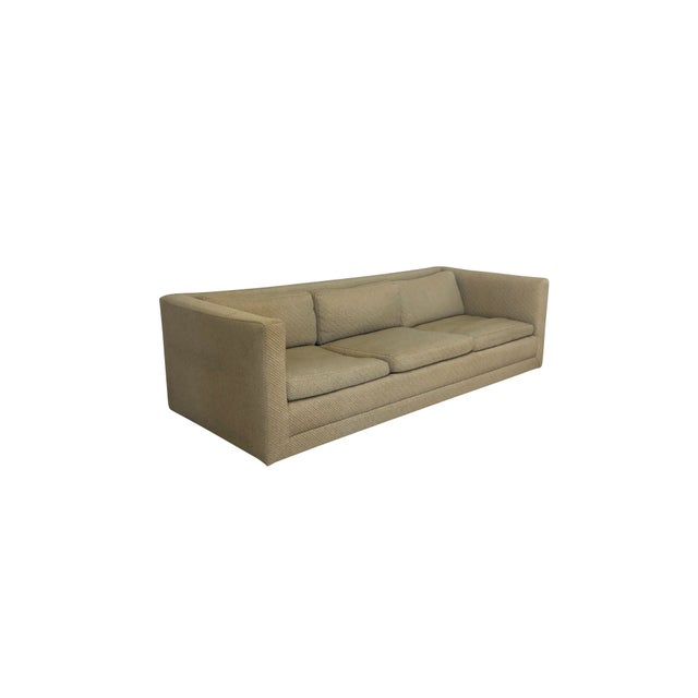 """Super lean 84"""" Harvey Probber sofa ready for your stylish touch. Solid frame with straight lines to make a statement...."""