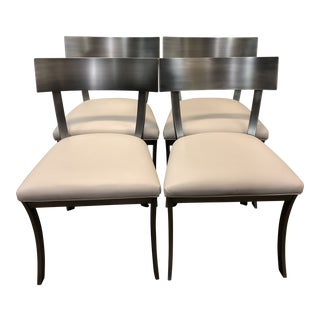 Design Institute of America Contemporary Dining Chairs - Set of 4 For Sale